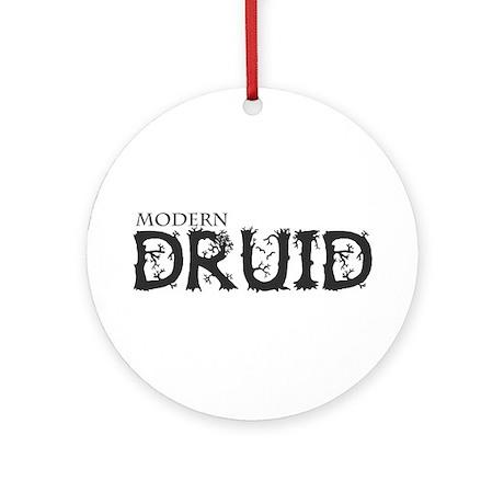 Modern Druid Ornament (Round)