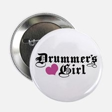 "Drummer's Girl 2.25"" Button"