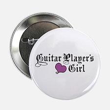 "Guitar Player's Girl 2.25"" Button"