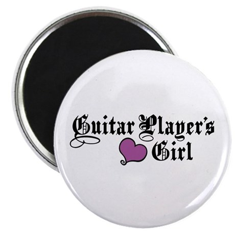 Guitar Player's Girl Magnet