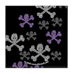 Skull'n'CrossbonesSwarmDk Tile Coaster