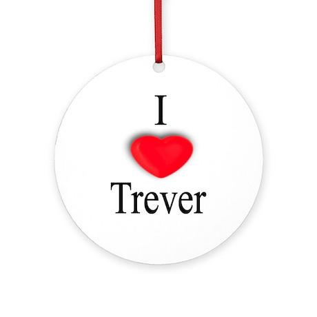 Trever Ornament (Round)