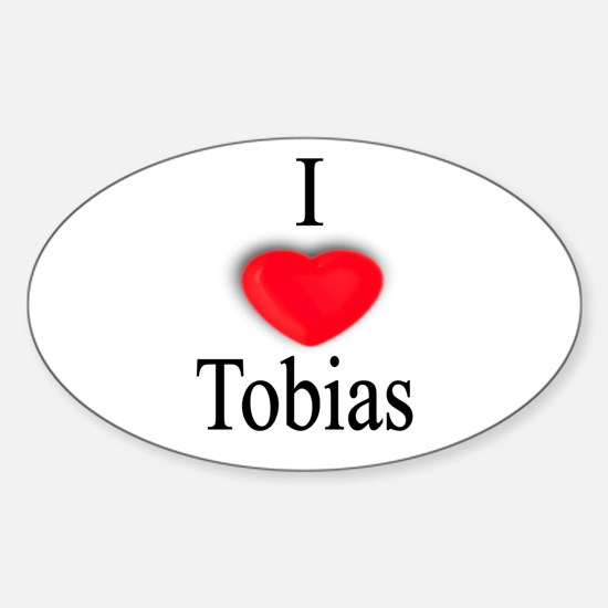 Tobias Oval Decal