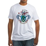 Seychelles Coat Of Arms Fitted T-Shirt
