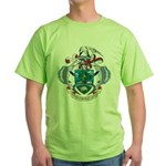 Seychelles Coat Of Arms Green T-Shirt