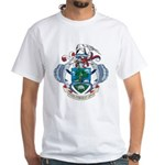 Seychelles Coat Of Arms White T-Shirt