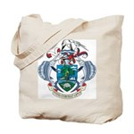 Seychelles Coat Of Arms Tote Bag