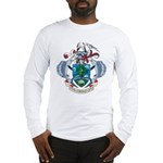 Seychelles Coat Of Arms Long Sleeve T-Shirt