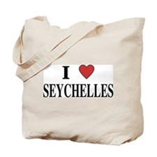 I Love Seychelles Tote Bag