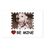 DALMATION (BE MINE)  Postcards (Package of 8)