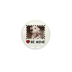 DALMATION (BE MINE) Mini Button (100 pack)