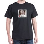 DALMATION (BE MINE)  Black T-Shirt