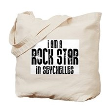 Rock Star In Seychelles Tote Bag