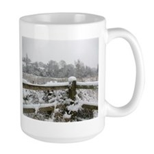 Snow fence Mug