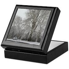 Snow Willow Keepsake Box