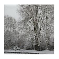 Snow Willow Tile Coaster