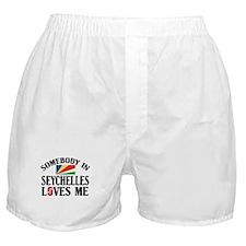Somebody In Seychelles Boxer Shorts