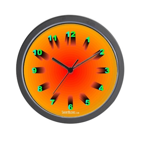 Ring Of Light Curious Wall Clock