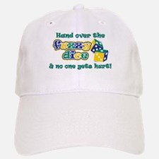 Hand over the fuzzy dice Baseball Baseball Cap