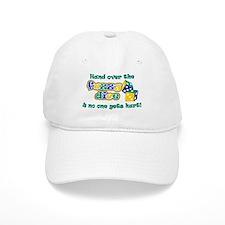 Hand over the fuzzy dice Baseball Cap