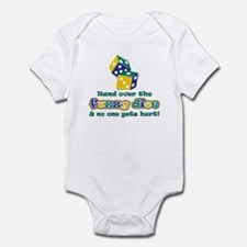 Hand over the fuzzy dice Infant Bodysuit