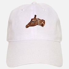 Curious Giraffe Baseball Baseball Cap