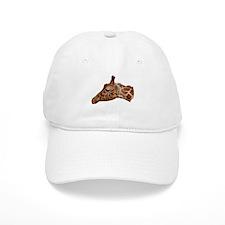 Curious Giraffe Baseball Cap