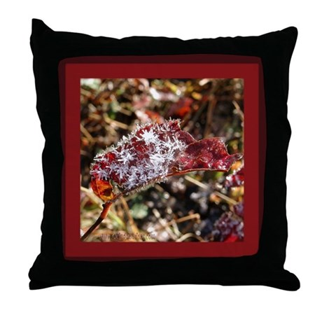 MCK Leaf Icicle Throw Pillow