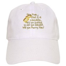 Will you marry Daddy? Baseball Cap