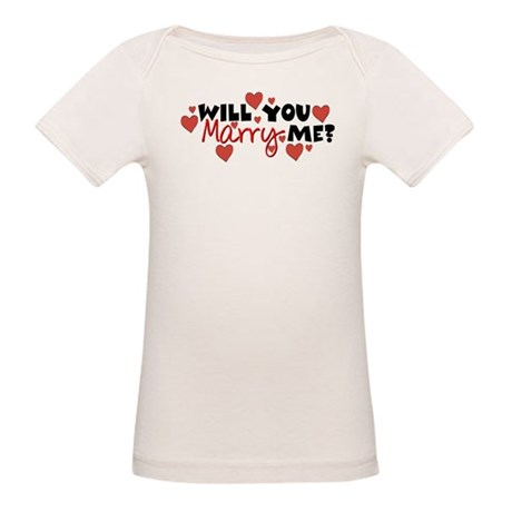 Will You Marry Me? Organic Baby T-Shirt