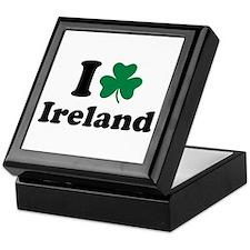 I love Ireland Keepsake Box