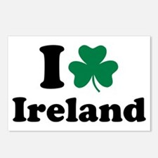 I love Ireland Postcards (Package of 8)