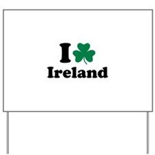 I love Ireland Yard Sign