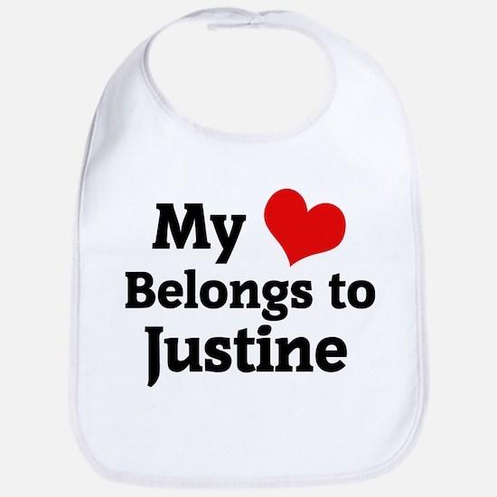 My Heart: Justine Bib