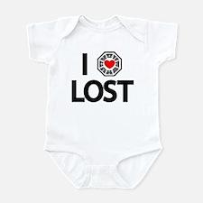 I Love Lost TV Series Infant Bodysuit