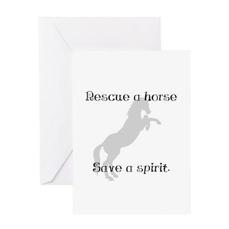 Rescue Grey Greeting Card