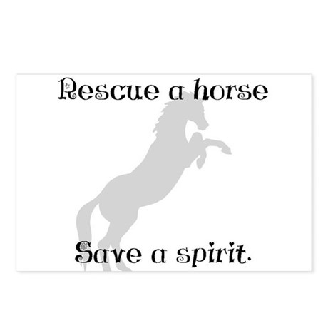 Rescue Grey Postcards (Package of 8)