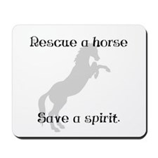 Rescue Grey Mousepad