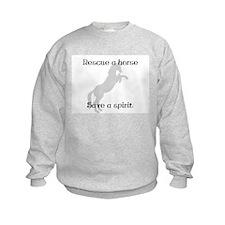 Rescue Grey Sweatshirt