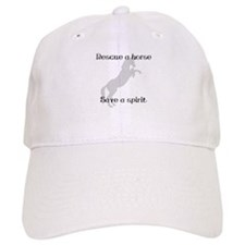 Rescue Grey Baseball Cap