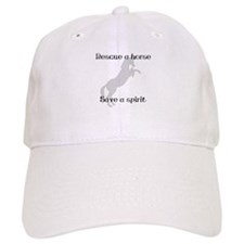 Rescue Grey Baseball Cap
