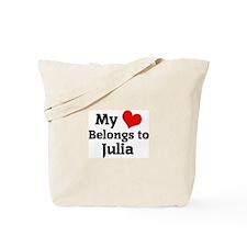 My Heart: Julia Tote Bag