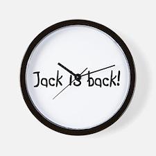 Jack is back! Wall Clock