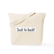 Jack is back! Tote Bag