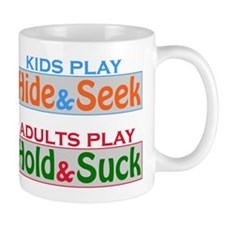 Adults Play Hold & Suck Mug