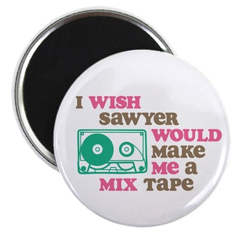 """Sawyer Mix Tape 2.25"""" Magnet (100 pack)"""