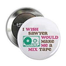 "Sawyer Mix Tape 2.25"" Button (100 pack)"