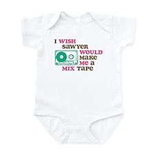 Sawyer Mix Tape Infant Bodysuit