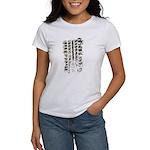 Wheel Print Women's T-Shirt