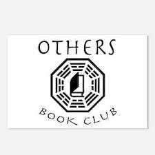 Cute Book club Postcards (Package of 8)